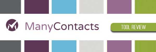 Tool Review: ManyContacts