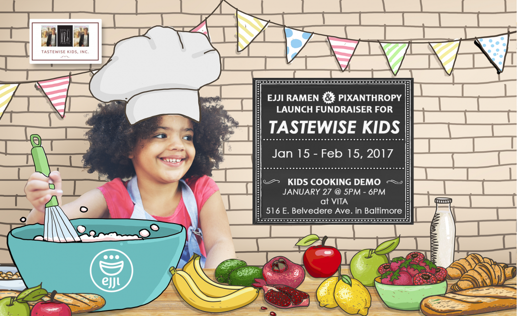 TasteWise Kids Fundraiser at Ejji Ramen on Pixanthropy