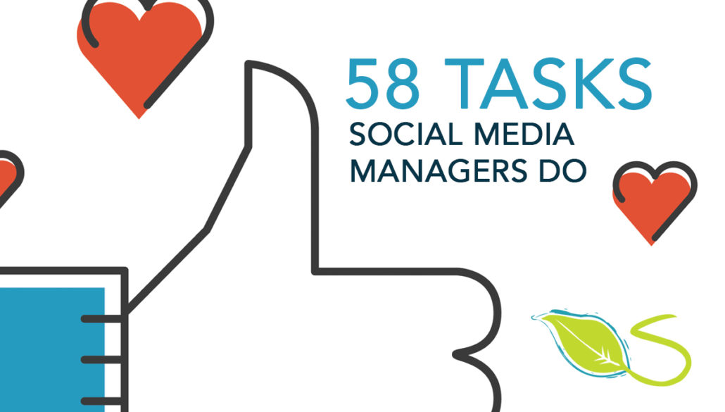 58 Tasks Social Media Managers Do