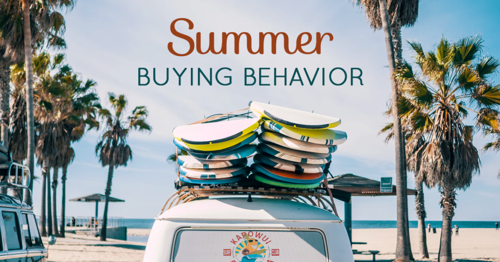 Summer Buyer Behavior