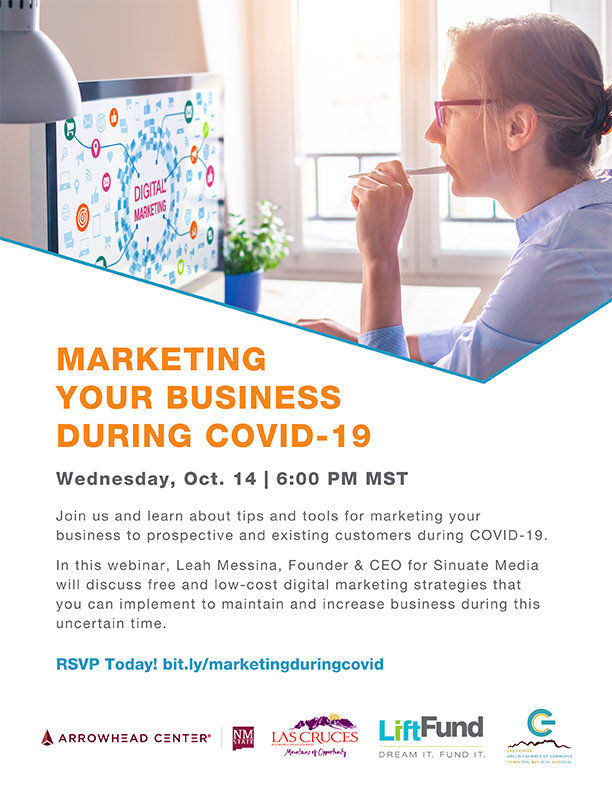 Marketing Your Business During COVID19 Flyer