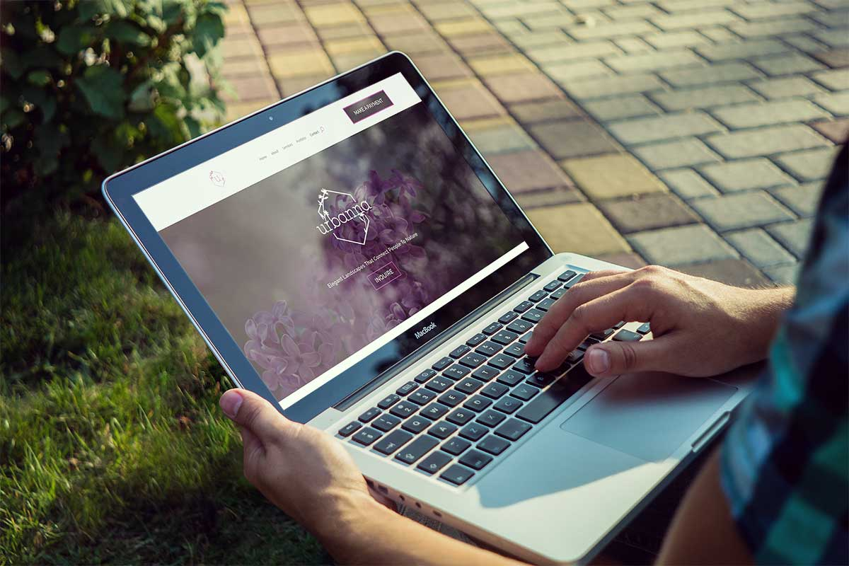 Urbanna Landscaping - Website Redesign by Sinuate Media